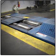 Transmission Testing Floor Dyno