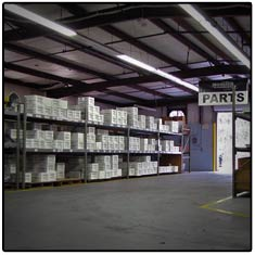Parts Inventory Department