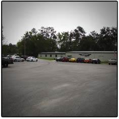 Monster Transmission Parking Location