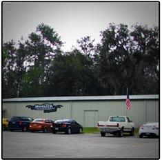 Outside of Monster Transmission Headquarters