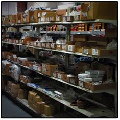 Transmission Parts Shelf